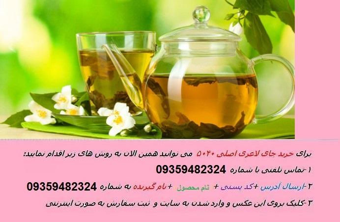 لاغری چای سبز